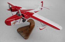 G-21A Model Goose Grumman USA Transport Airplane Mahogany Wood Model Large New