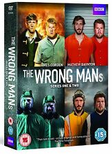 The Wrong Mans Series 1 + 2 Season One Two First Second Region 4 New DVD 2 Discs