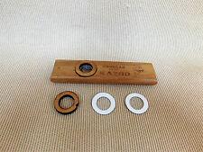 Adeline 'Woodman' Kazoo Premium Wood Kazoo + Spare Membrane / Plug