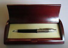 Jaguar Leather Wrapped Pen In Wooden Presentation Box = 2005 =