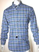 Polo Ralph Lauren plaid oxford men's shirt size xl slim fit with stretch