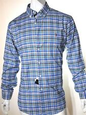 Polo Ralph Lauren plaid oxford men's shirt size xl slim fit with stretch