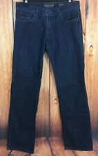 Sonoma Womens Dark Wash Modern Fit Straight Leg Low Rise Stretch Jeans Size 4P