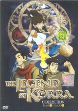 DVD Avatar Legend of Korra ( Book 1+2+3+4) Complete Collection (English Version)