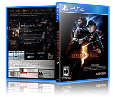 Resident Evil 5 - ReplacementPS4 Cover and Case. NO GAME!!