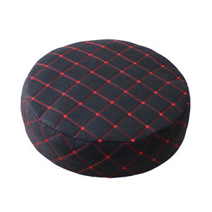 Round Monochrome Stretch Fabric Cover Cover Chair Covers Chair Cushion For Bar