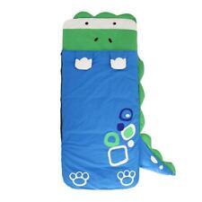 Kinder Plüsch Tier Schlaf Schlafsack mit Super Soft Cosy Dinosaurier