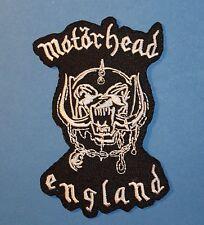 `MOTORHEAD ENGLAND ` SEW OR IRON ON PATCH