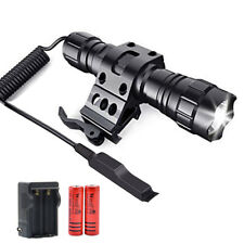 WindFire 2000Lumens LED Weapon Light Tactical Flashlights with Offset Rail Mount