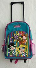 Powerpuff girls Divas Rolling Backpack****very popular, Holliday best gift****