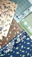 HARVEST ROAD Lella Boutique Vanessa Goertzen Moda Fabrics Blue Fabric Bundle