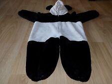 Size 4 Beastly Buddies Plush Panda Teddy Bear Halloween Costume Jumpsuit EUC