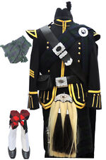 Pipe Band Uniform, Scottish Highland Dress Outfit Customized 26 PC Piper Drummer