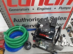 """New Improved Euro 5 1"""" INCH PETROL WATER PUMP LONCIN LC25ZB21"""