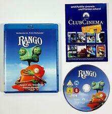 Blu-ray RANGO dt. OVP Western/Trickfilm/3D Computer Animation