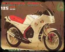 CAGIVA ALETTA ORO S2 86 A4 Imprimé Photo moto Vintage Aged