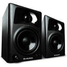 "M-Audio AV42 Black Pair 4"" 2-Way Active Powered Studio Monitor Speakers Pair 40W"