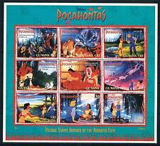 Guyana 1995 Pocahontas sheet SG 4395/403 MNH