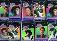 ELVIS PRESLEY 10 SEALED PACKS SERIES 1 TRADING CARDS by The River Group 1992
