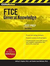 CliffsNotes FTCE General Knowledge Test, 3rd Edition by McCune PhD, Sandra Luna