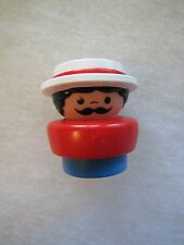 Fisher Price Little People CHUNKY CIRCUS RINGMASTER Ring Master Carnival Train