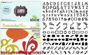 SLICE Design Card REMEMBER THIS  33749 Making Memories
