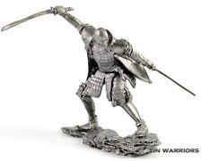 *Samurai* Tin toy soldier. Collection 54mm miniature figurine. metal sculpture
