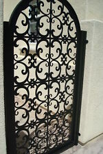 Italian Metal Gate Custom Pedestrian Walk Entry Garden Iron Art Iron Made in USA