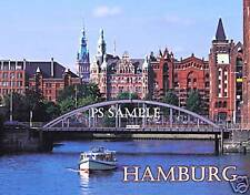 Germany - HAMBURG - day - Travel Souvenir Fridge Magnet