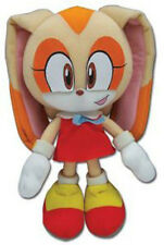 """New Authentic ~ 7.5"""" Cream the Rabbit Sonic the Hedgehog Plush by Great Eastern"""