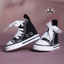 1/3 BJD Shoes Girl SD Supper Dollfie Boots Dollmore Luts AOD DZ Black Sneaker