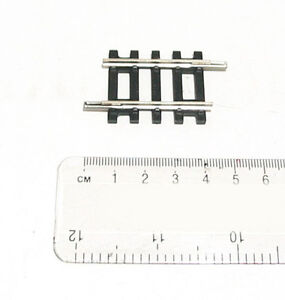 Hornby R610 Quarter Short Straight Track Standard Single OO Gauge 1:76 36-610