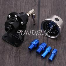 Régulateur de pression d'essence réglable de précision automobile / Turbo - Noir
