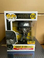 NUOVO FUNKO POP! Star Wars Knight Of Ren (War Club) 332 Hot Topic Exclusive RARE