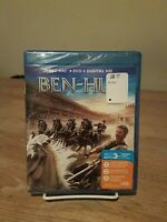 Ben-Hur (2016) (Blu-ray/DVD) Digital Code Brand New Sealed
