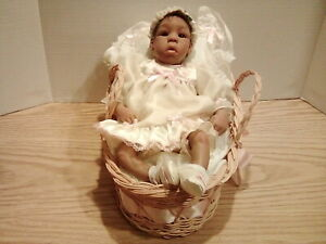 Lorna Miller Sands Silicone Bitties Kiyah Reborn African American  Collector Clu