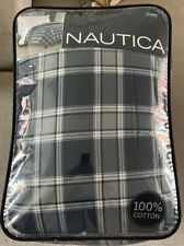 NAUTICA   GROVEDALE  PLAID 5 PC  FULL COMFORTER SHEET SET