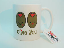 OLIVE si (I LOVE YOU) Divertente Tazza-LOVE-fantastico regalo per San Valentino