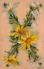 "Vintage Victorian Klein Floral Letter Initial ""X""  2"" x 3"" Fridge Magnet"