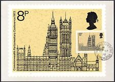 GB-UK PHQ Cards 1973 Commonwealth Parliamentary Conference 1973  PHQ3F