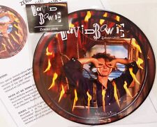 "David Bowie Zeroes 2018 7"" Picture Disc 40th Anniversary Beat of Your Drum"