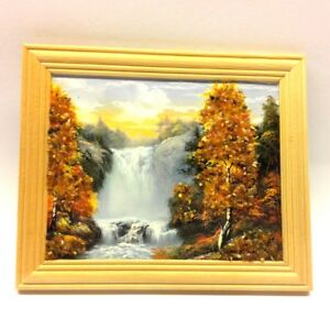 Amber Genuine Picture Forest Wooden Pine Natural Frame Souvenir WP28