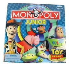 Hasbro Monopoly Junior Toy Story And Beyond Board Game 2002 New Sealed