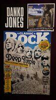 Classic Rock 3 Magazine Bundle +CDs Purple Que Nightwish Rush Issue 208 210 211