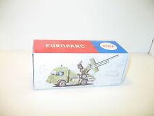 n81,  BOITE  camion renault canon militaire,  repro CIJ