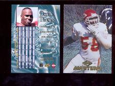 1997 CE Collectors Edge Masters DERRICK THOMAS Kansas City Chiefs Card