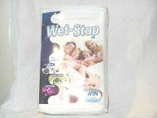 Potty MD WET-STOP Mattress/Bed Cover Protector Waterproof Hypoallergenic - TWIN