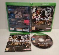 Metal Gear Survive XBOX ONE - Jeu Online - PAL Français - Comme neuf - Complet