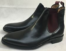 Oliver Sweeney Men's Balassini Black Leather Ankle Boots. UK 8. RRP £295.