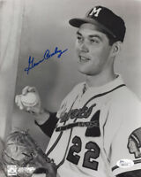 1957 BRAVES Gene Conley signed 8x10 photo JSA COA AUTO Autographed Milwaukee